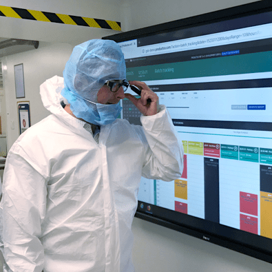 Digitization of production in Pharmaceuticals with Productoo