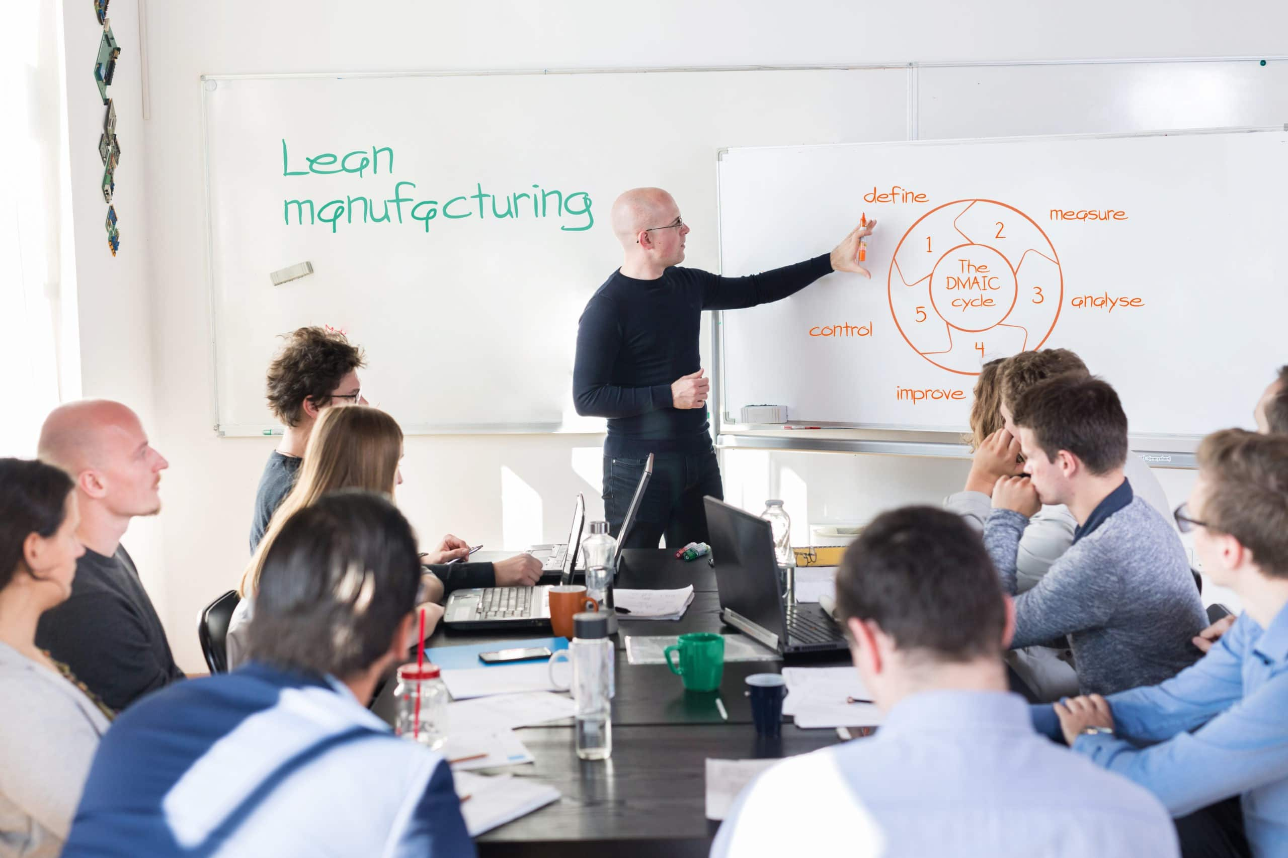 Design and optimization of a lean workplace management | Training